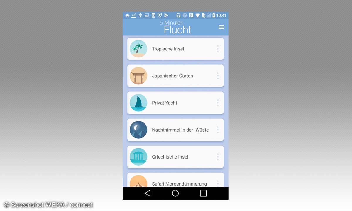 Entspannungs- Apps : 5 Minuten Flucht 2
