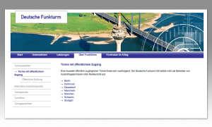 Internet im Flugzeug - Deutsche Funkturm