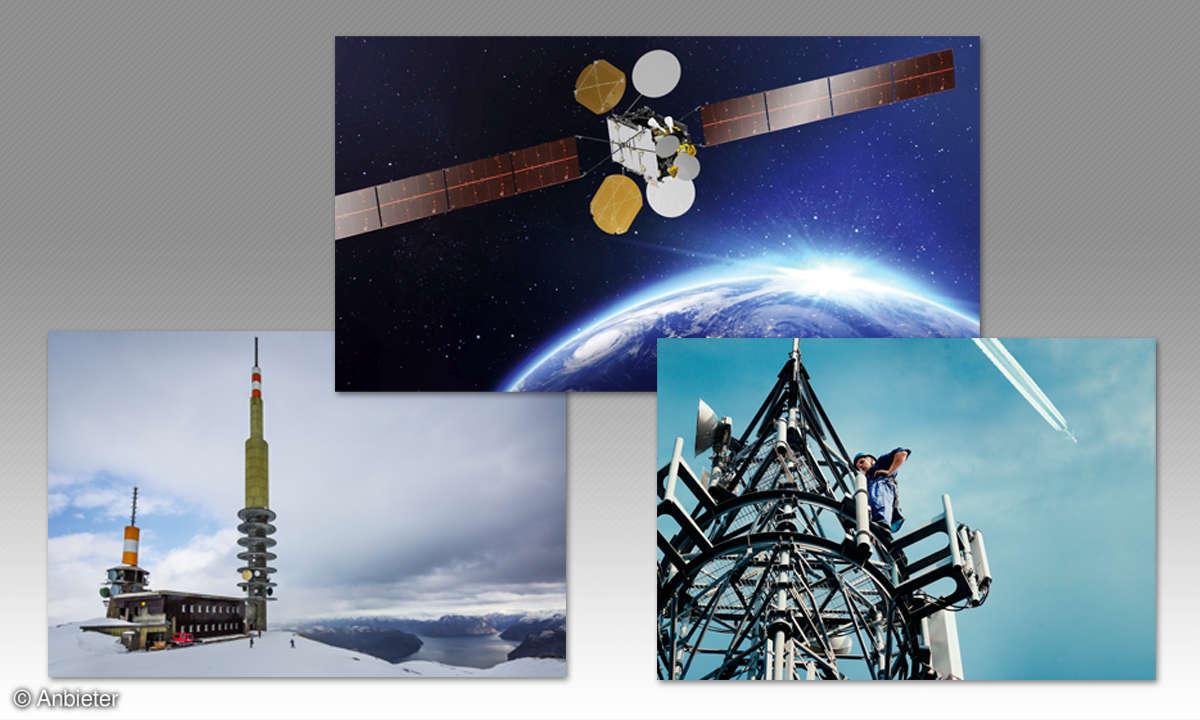 Internet im Flugzeug - EAN-Antennen