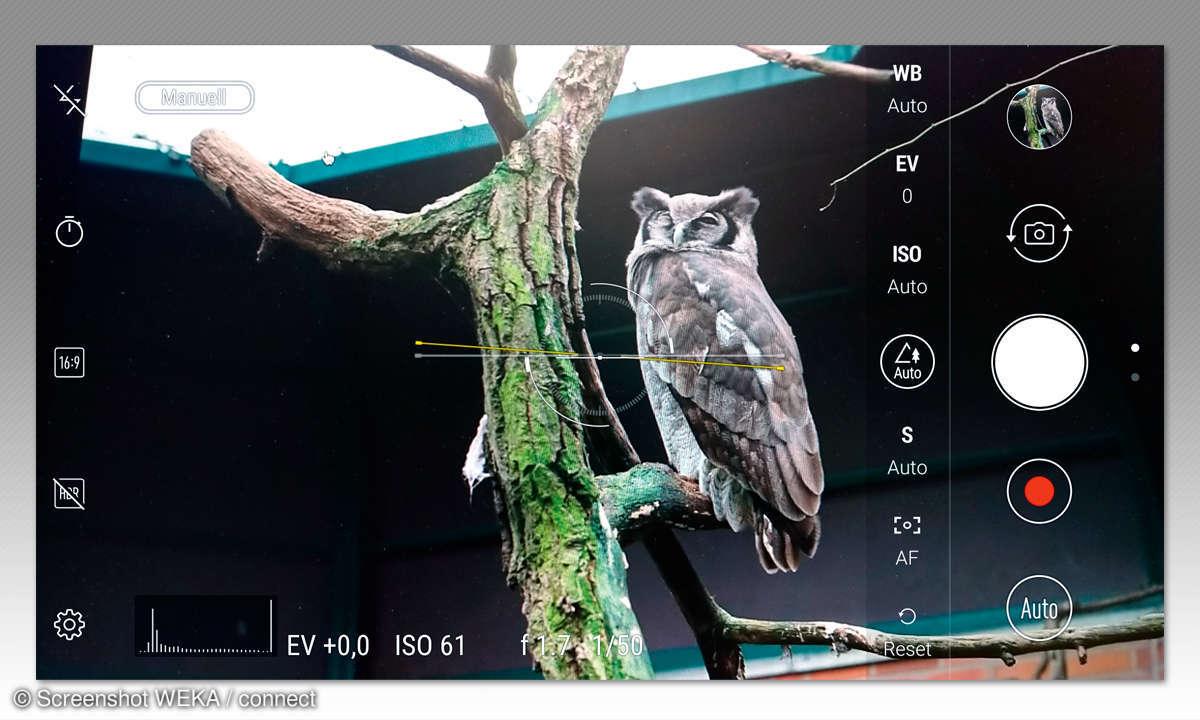 Asus ZenFone 4 Pro - Kameraeinstellungen