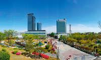 Samsung Digital City in Suwon South Korea