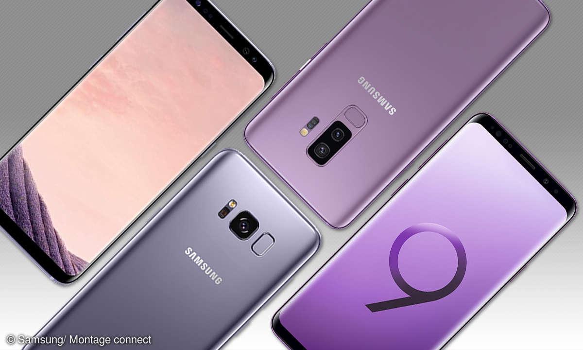 Galaxy S8 und Galaxy S9+