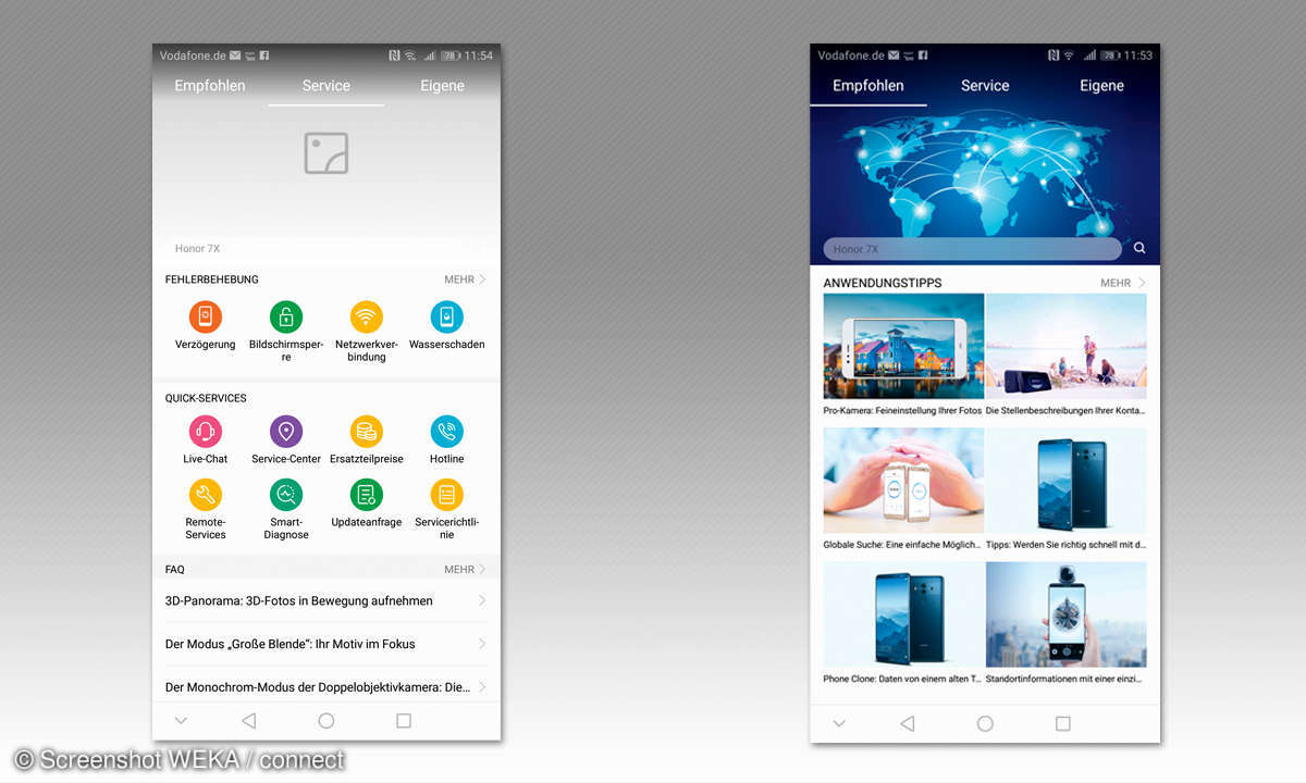 Service & Support bei Huawei