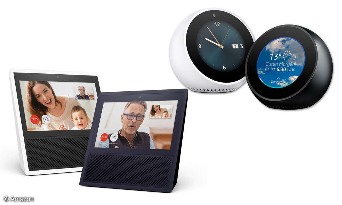 Alexa oder Google Assistant? Display-Nutzung