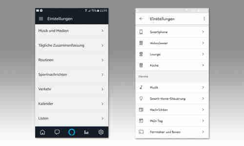 Alexa Vs Google Assistant Bedienung Connect