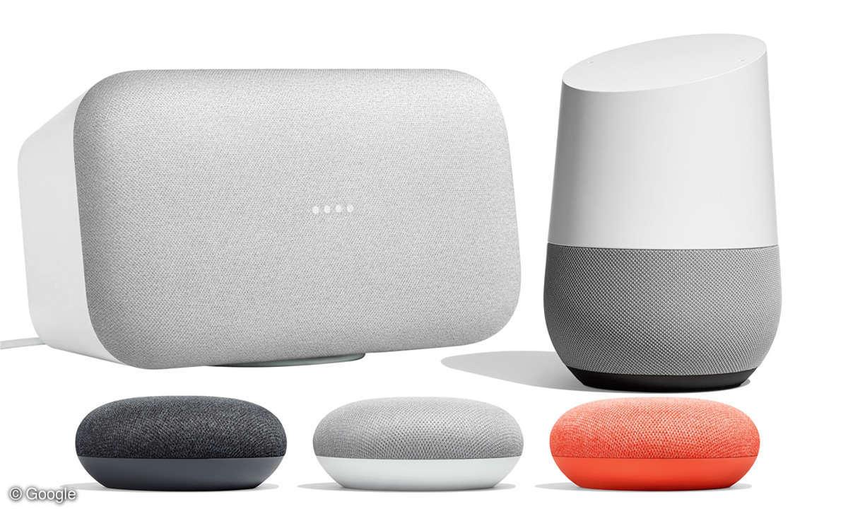 Alexa oder Google Assistant? Google Home Familie