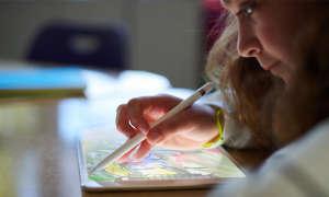 Apple iPad 2018 mit Apple Pencil
