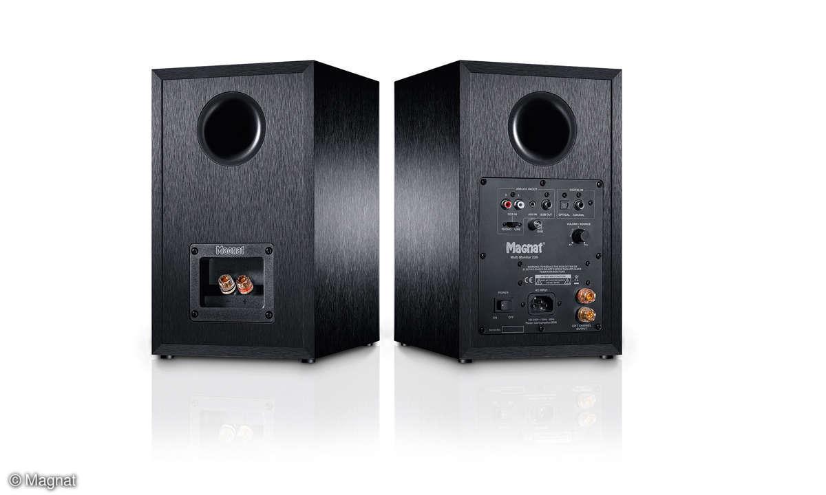 Magnat Multi Monitor 220 Vorder- und Rückseite