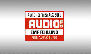Audio-Technica ADX-5000 Siegel Testsiegel