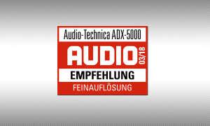 Audio-Technica ADX-5000 Siegel Testsiegel