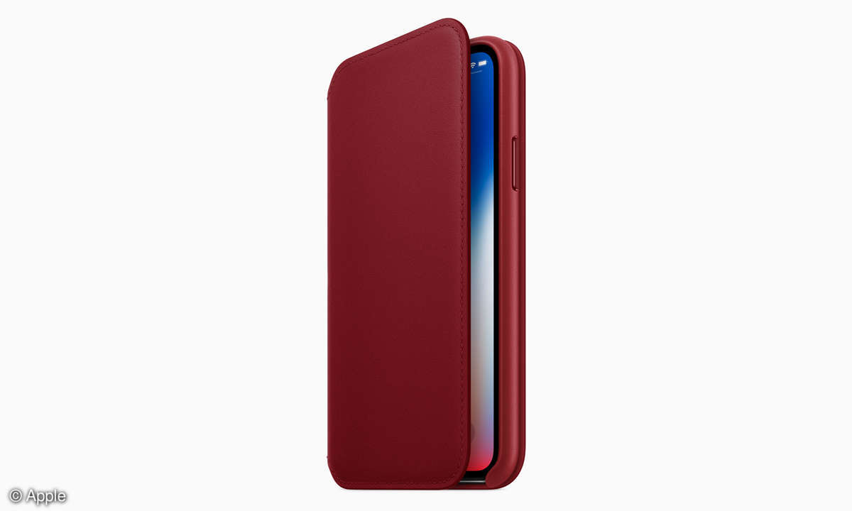 iPhone X Product Red Special Edition Folio