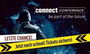 connect conference 2018: Jetzt Tickets sichern!