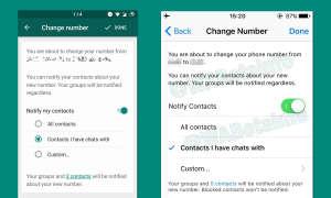 Whatsapp Update Nummer Aendern