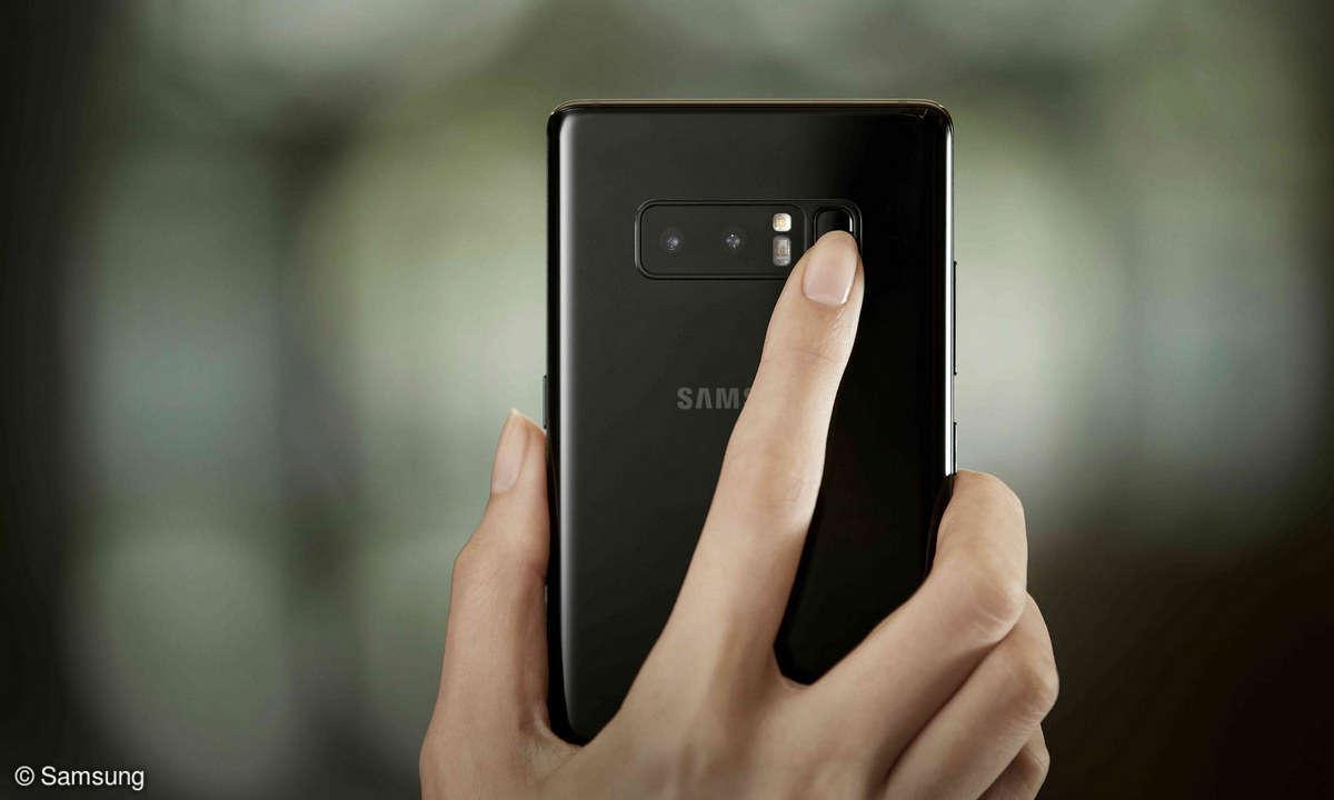 Samsung Galaxy Note 8 Fingerabdruckscanner