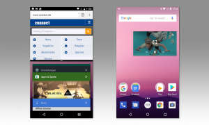 Multitasking in Android 7 und Android 8