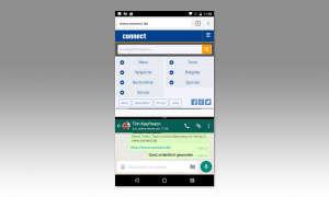 Android 7: Splitscree-Aufteilung