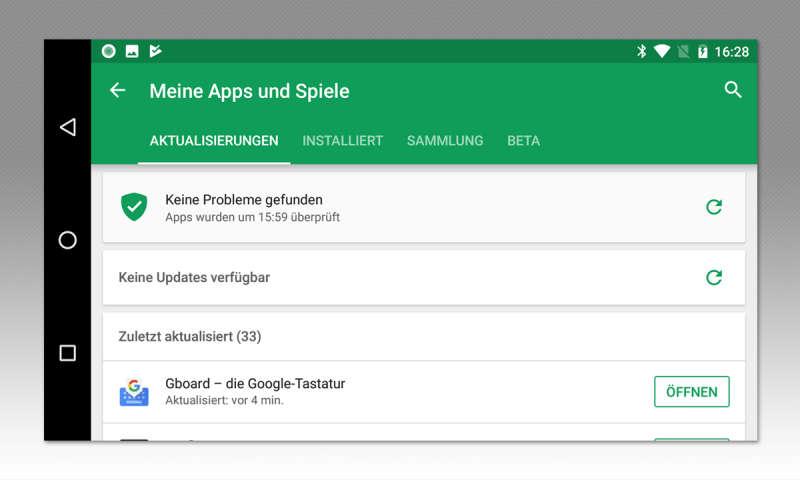 App im store suchen ausschalten