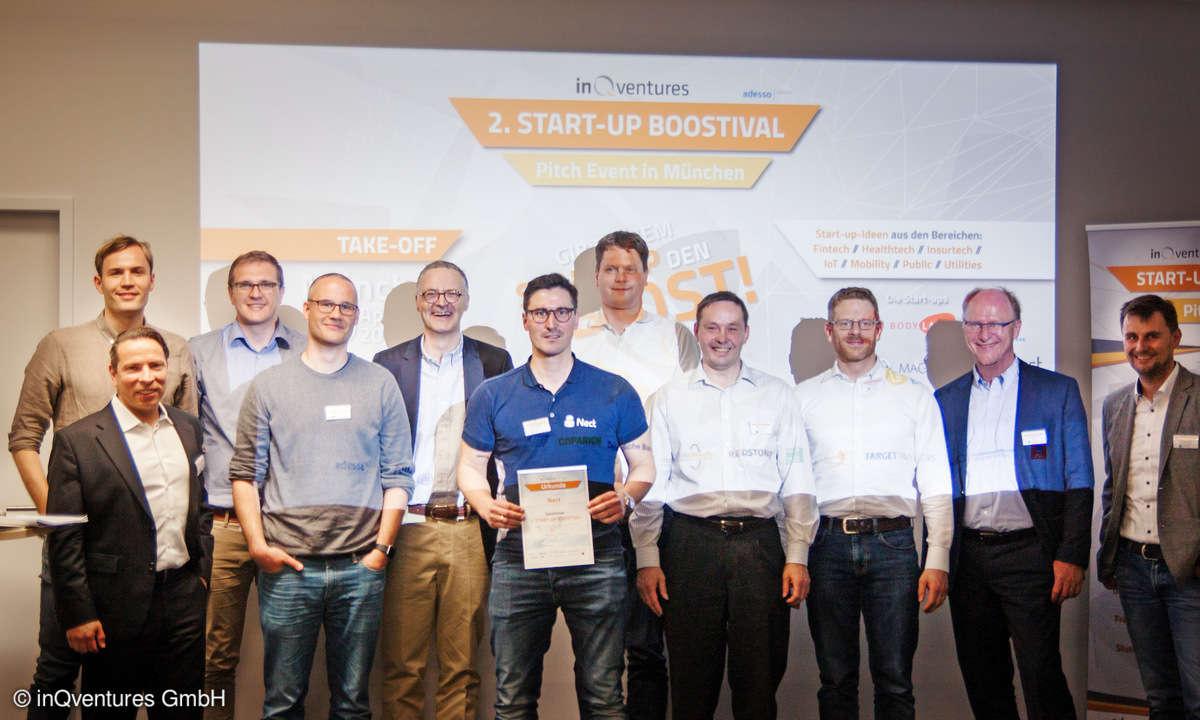 Start-up Boostival Sieger Nect