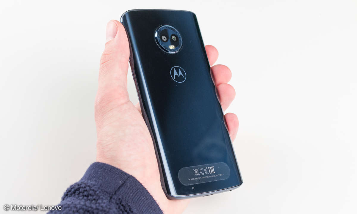 Motorola Moto G6 Rückseite