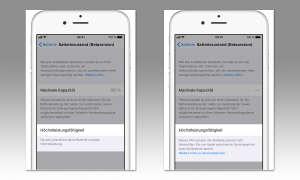 iOS 11.3 iPhone Batteriezustand