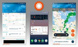 Wetter-Apps im Vergleich - Accuweather (Platinum)
