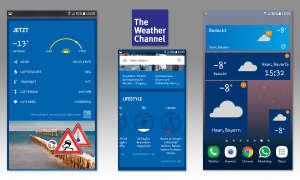Wetter-Apps im Vergleich - The Weather Channel
