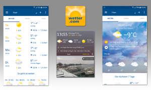 Wetter-Apps im Vergleich - Wetter.com