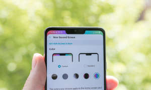 LG G7 grau New Screen Design