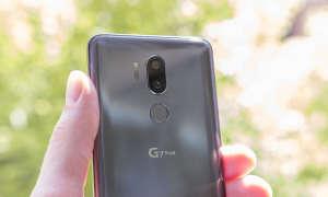 LG G7 grau Rückkamera