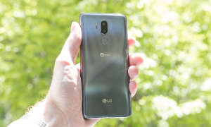 LG G7 grau Rückseite