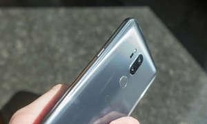LG G7 grau Seite