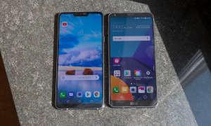 LG G7 und G6 Front