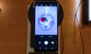 LG G7 helle Aufnahmen ein