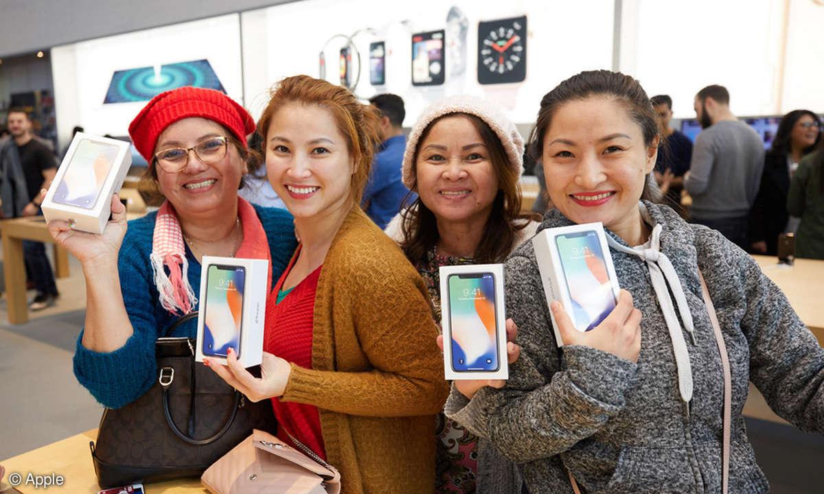 iphone x meisverkauftes smartphone q1 2018