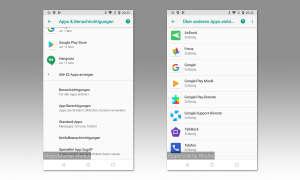 Android App-Berechtigungen