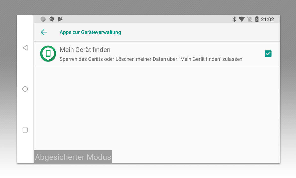 Android Geräteverwaltung