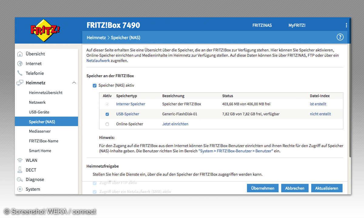 In 6 Schritten zur eigenen Fritzbox Cloud