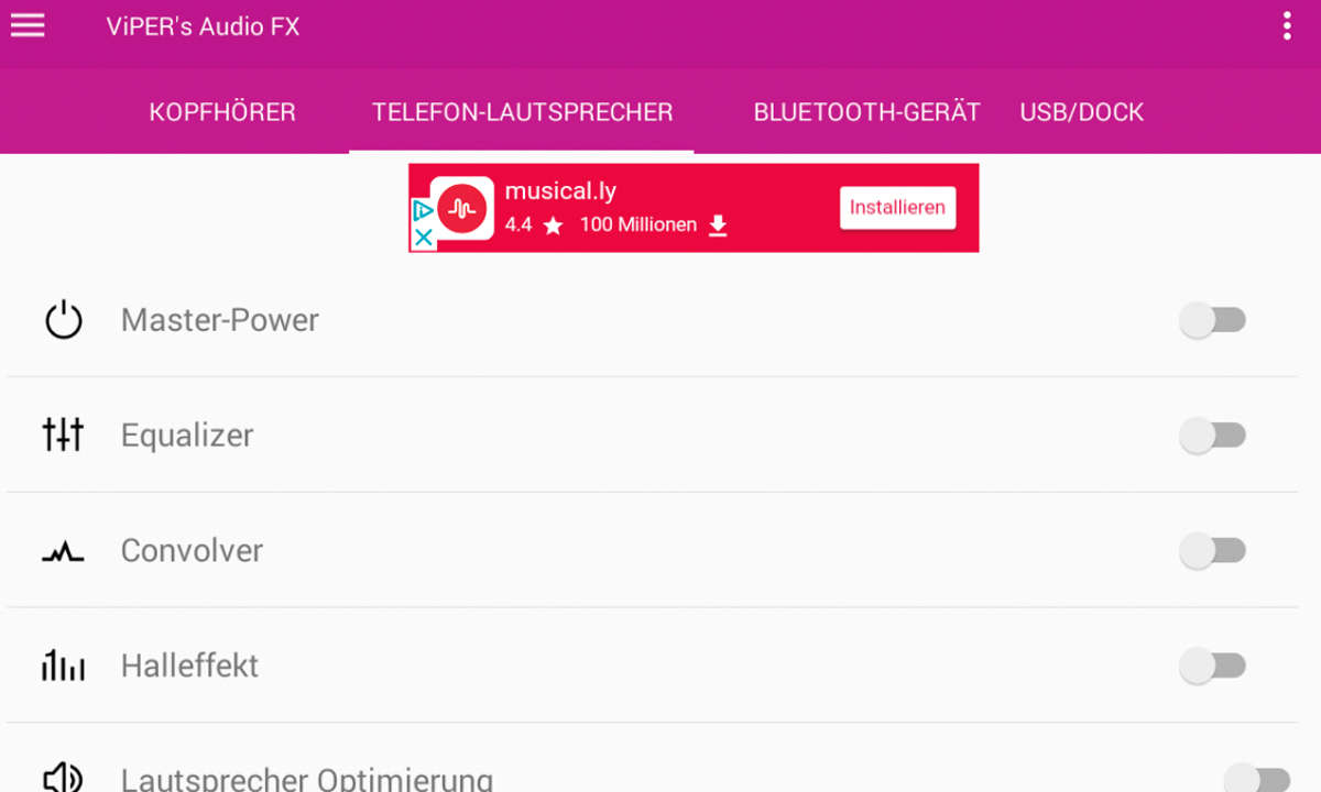 Android rooten: Screenshot Viper