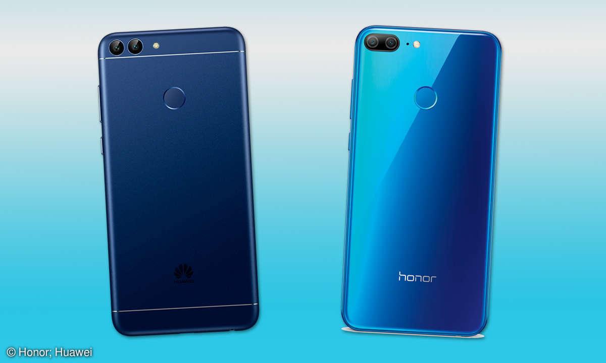 Honor 9 Lite vs. Huawei P Smart