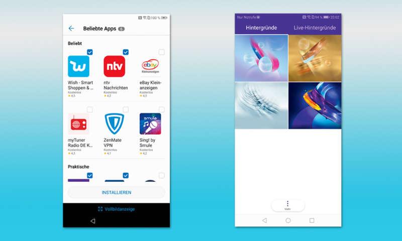 Honor 9 Lite vs  Huawei P Smart - connect