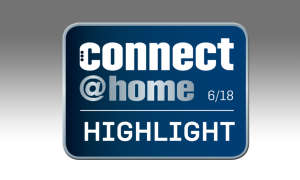connect at home Highlight Testsiegel