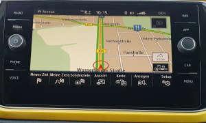 VW T Roc Infotainment Navi