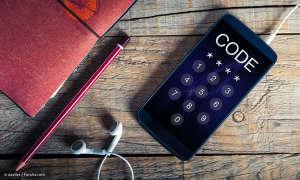 Smartphone PIN Code entsperren