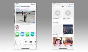 iOS Ordner Ausgeblendet