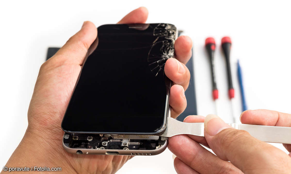 Smartphone Display Reparatur