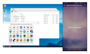 Smartphone als PC-Ersatz: Huawei Easy Projection