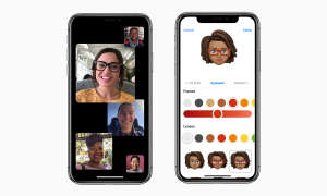 iOS 12 FaceTime Gruppen und Memoji