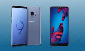 Huawei P20 Samsung Galaxy S9