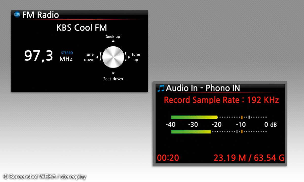 CocktailAudio X-45 - Screens