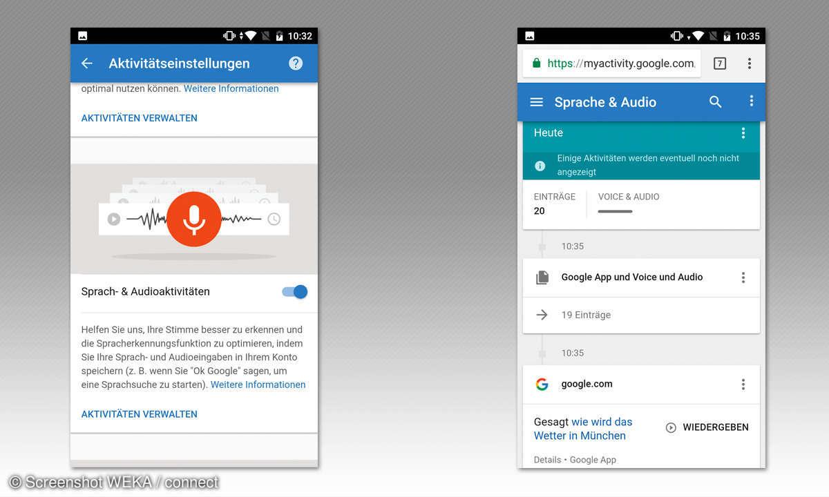 Google Assistant Tipps - Audio löschen